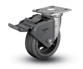 Plate Mount Locking Caster