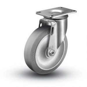3-1/2″ x 1-1/4″ THERMOPLASTIC RUBBER SWIVEL CASTER