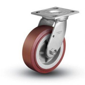 6″ x 2″ POLY ON POLY SWIVEL CASTER