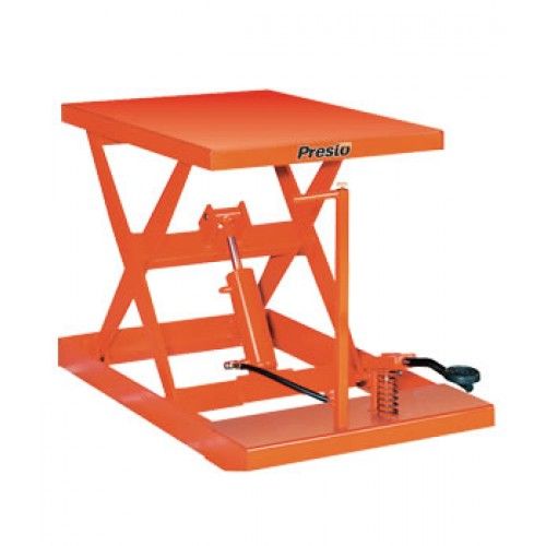 1000LBS CAPACITY MANUAL LIFT TABLE WITH 24″ OF TRAVEL