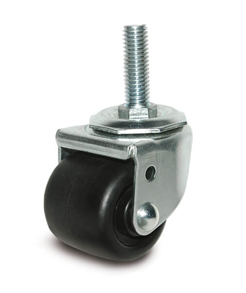 2″ BUSINESS MACHINE SWIVEL CASTER WITH THREADED STEM
