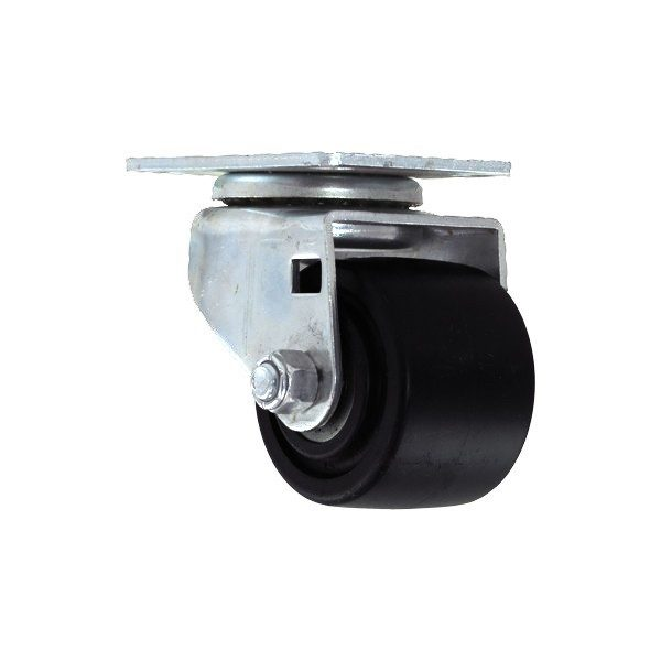 2″ BUSINESS MACHINE SWIVEL CASTER WITH TOP PLATE