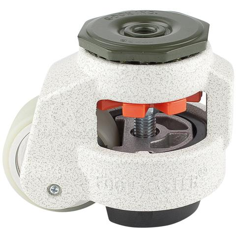 2.5″ LEVELING CASTER WITH THREADED STEM
