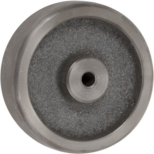 4″ CAST IRON WHEEL WITH PLAIN BEARING