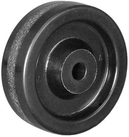 4″ PHENOLIC WHEEL WITH PLAIN BEARING