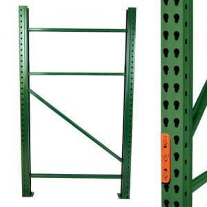 UPRIGHT THAT MEASURES 42″DEEP X 144″HIGH