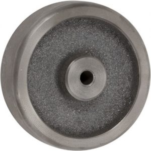5″ CAST IRON WHEEL WITH PLAIN BEARING