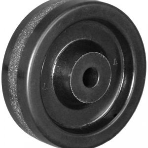 5″ PHENOLIC WHEEL WITH PLAIN BEARING