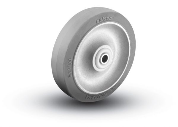 5″ THERMOPLASTIC RUBBER WHEEL WITH BALL BEARINGS