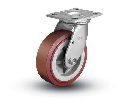5″ x 2″ POLY ON POLY SWIVEL CASTER