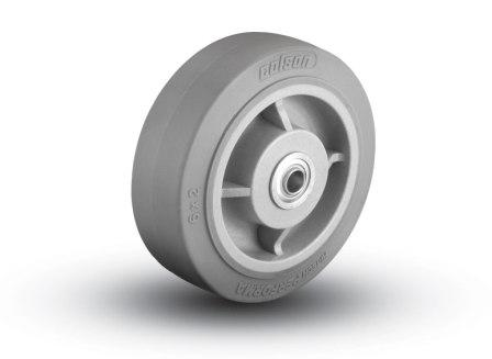 6″X2″ THERMOPLASTIC RUBBER WHEEL WITH BALL BEARINGS