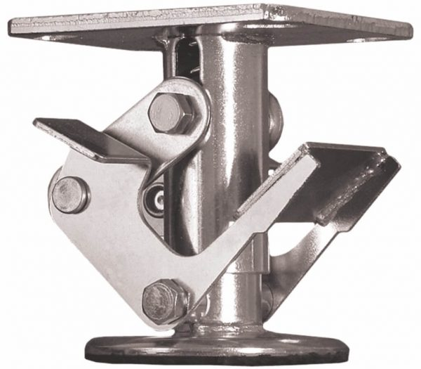 PEDAL FLOOR LOCK USED WITH A 8″ CASTER