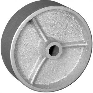 8″X2″ CAST IRON WHEEL WITH ROLLER BEARING