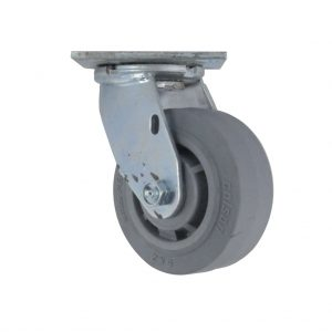 8″X2″ THERMOPLASTIC RUBBER STAINLESS STEEL SWIVEL CASTER