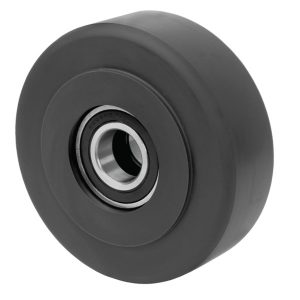 10″X3″ SOLID NYLASTRONG WHEEL WITH BALL BEARINGS