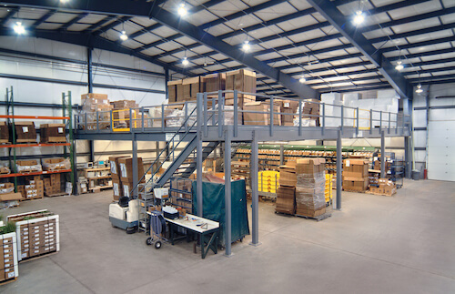 Multi-Use Warehouse Mezzanine